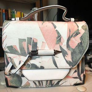 Mackage Keeley Satchel with Leaf Design
